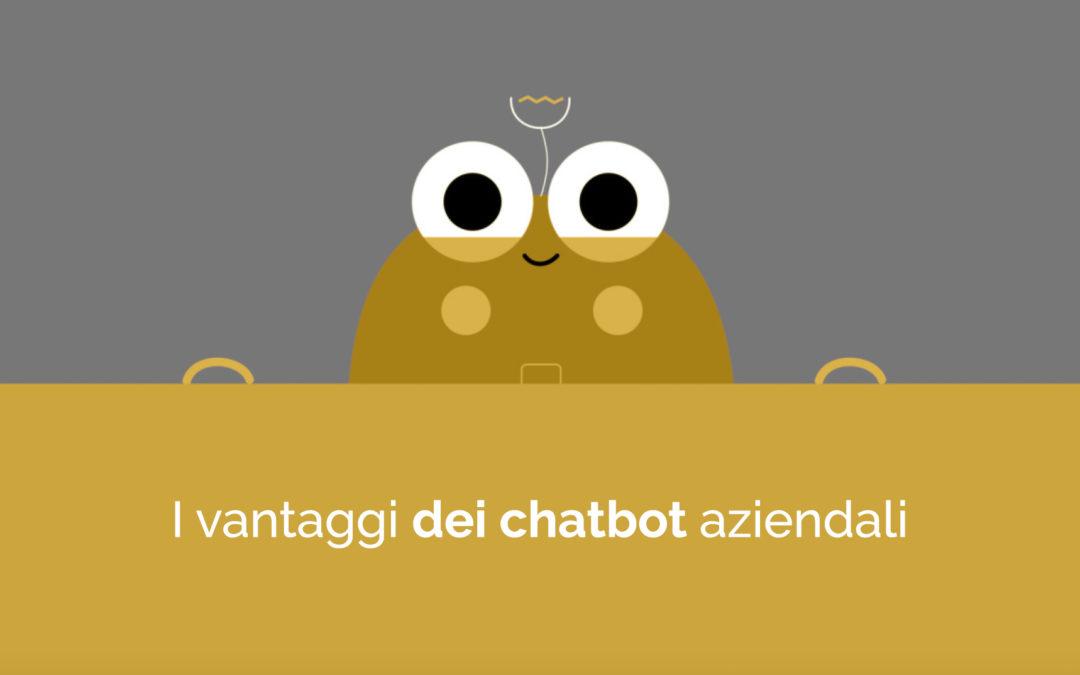 I vantaggi dei chatbot aziendali